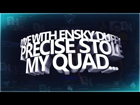 Live with eNsKy Duffy: Precise Split My Quad Feed... (Black Ops 3 Highlights)