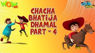 Download Chacha Bhatija Dhamaal Part 4 - Funny Videos and Compilations - 3D Animation Cartoon for Kids 3Gp Mp4