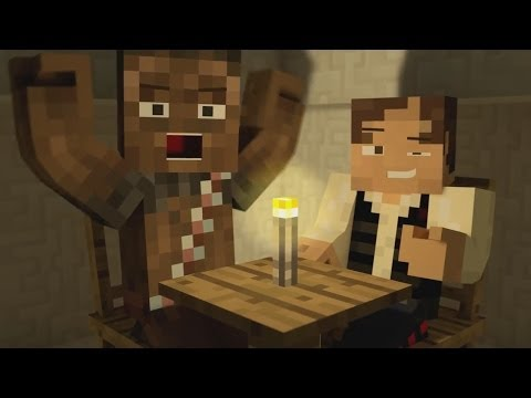 Minecraft Animation: Star Wars Parody!