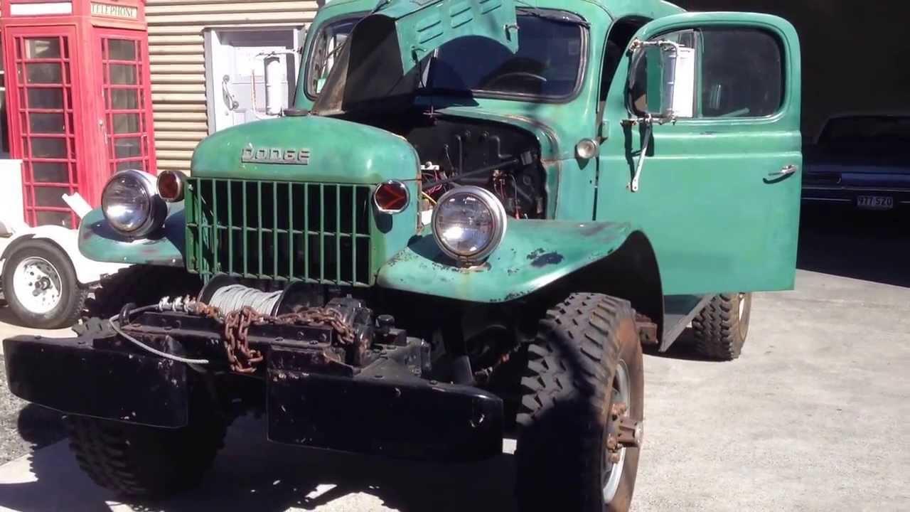 1946 Dodge Power Wagon Factory Dual Cab Youtube