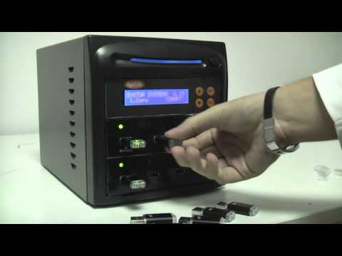 1 to 7 USB  drive duplicator Systor