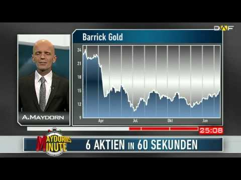 Maydorns Minute: Solarworld, Nordex, Daimler, Barrick Gold, Apple und Tesla