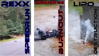 Project REXX | TWIN LRP Z28R Spec 3 | Speedrun + some stupid Brushless Fun