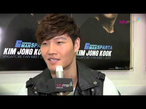 Singapore Fanmeeting Interview - Kim Jong Kook wants to be Yoo Jae Suk!