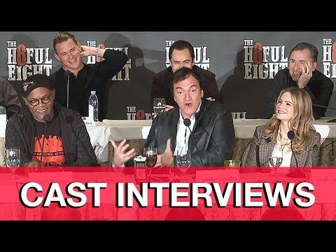 The Hateful Eight Interviews (Spoilers) - Quentin Tarantino, Channing Tatum, Samuel L. Jackson