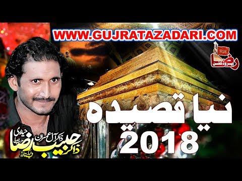 New Qasida | Zakir Habib Raza Haideri 2018 ( www.Gujratazadari.com )
