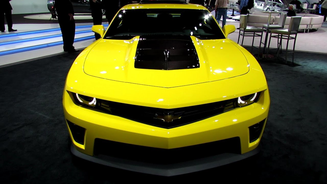 2013 Chevrolet Camaro Zl1 Exterior And Interior Walkaround 2013 Detroit Auto Show Youtube