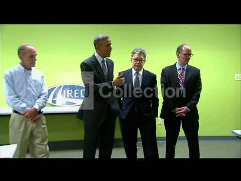 MN- OBAMA VISITS JOB TRAINING CENTER