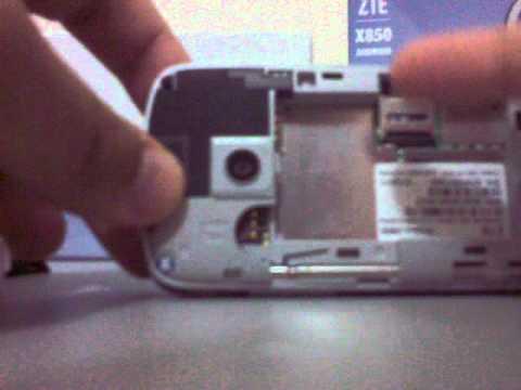 Unboxe ZTE x850 Racer - mais em www.androidxd.blogspot.com