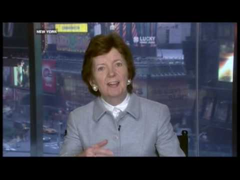 Frost Over The World - Mary Robinson & Darfur - 21 Sep 07