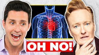 Real Doctor Reacts To Conan O'Brien's Doctor Visit | Wednesday Checkup