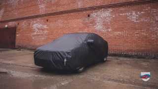Видео: Защитный тент-чехол на кузов автомобиля.