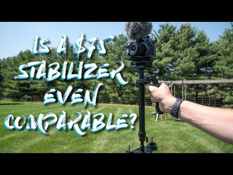 Can a $75 Budget Stabilizer Even Compare to a $200 Glidecam/Steadicam?    Dazzne S60+ Review
