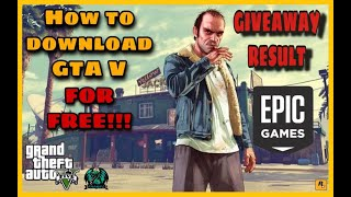 HOW TO DOWNLOAD GTA V FOR FREE | EPIC GAMES STORE | GIVEAWAY