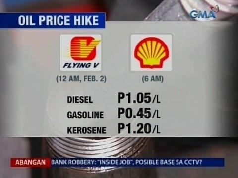 Saksi: Oil price hike