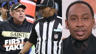 Sean Payton is most to blame for the Saints' NFC Championship Game loss - Stephen A. | First Take