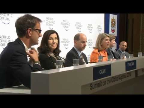 Dubai 2014 - Press Conference on the Global Agenda Council Award