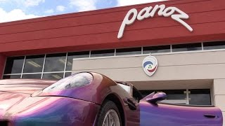 Visiting the Home of Panoz! Full Factory Tour & My First Drive in an Esperante!