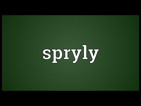 Header of spryly