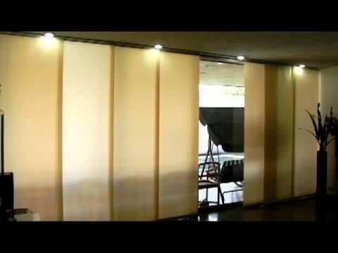 Decoracion mueble sofa como instalar un panel japones - Como colocar un panel japones ...
