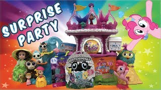 Surprise party - Trolls , Hatchimals , Lalaloopsy blind bags, Baby Secrets , L.O.L Surprise  opening