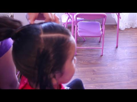 Peinados Rapidos y Faciles Para La Escuela   Peinados En 5 Minutos Para Niña