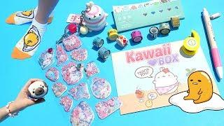 Caja sorpresa con Artículos Kawaii Box• Kit de comidita que se come de verdad • Colegio de Juguetes