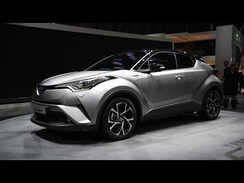 2017 Toyota C-HR First Look - 2016 Geneva Motor Show