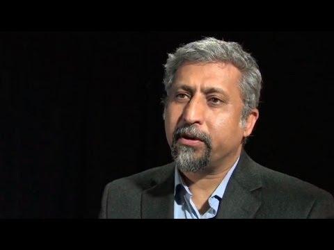 York professor and film maker Ali Kazimi