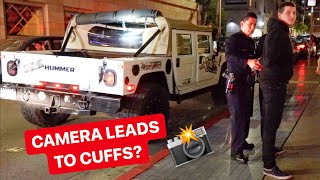 POLICE UNLAWFULLY DETAIN HUMMER DRIVER FOR THIS!? *FILMING IS NOT A CRIME*