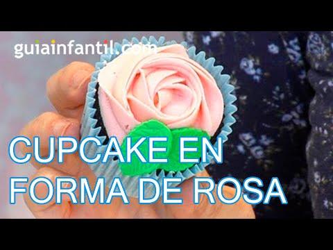 Como hacer una cupcake con forma de rosa youtube - Como secar una rosa ...