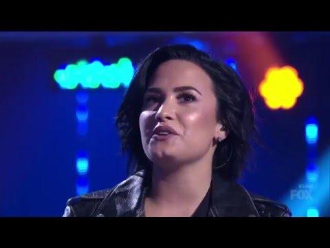 Stone Cold (Live) - Demi Lovato - American Idol
