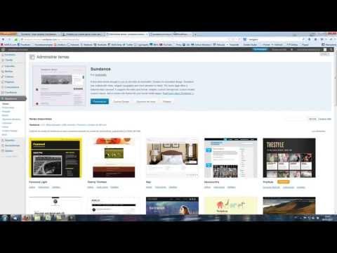 Curso de WordPress -- Clase 2: Apariencia del blog. Temas.