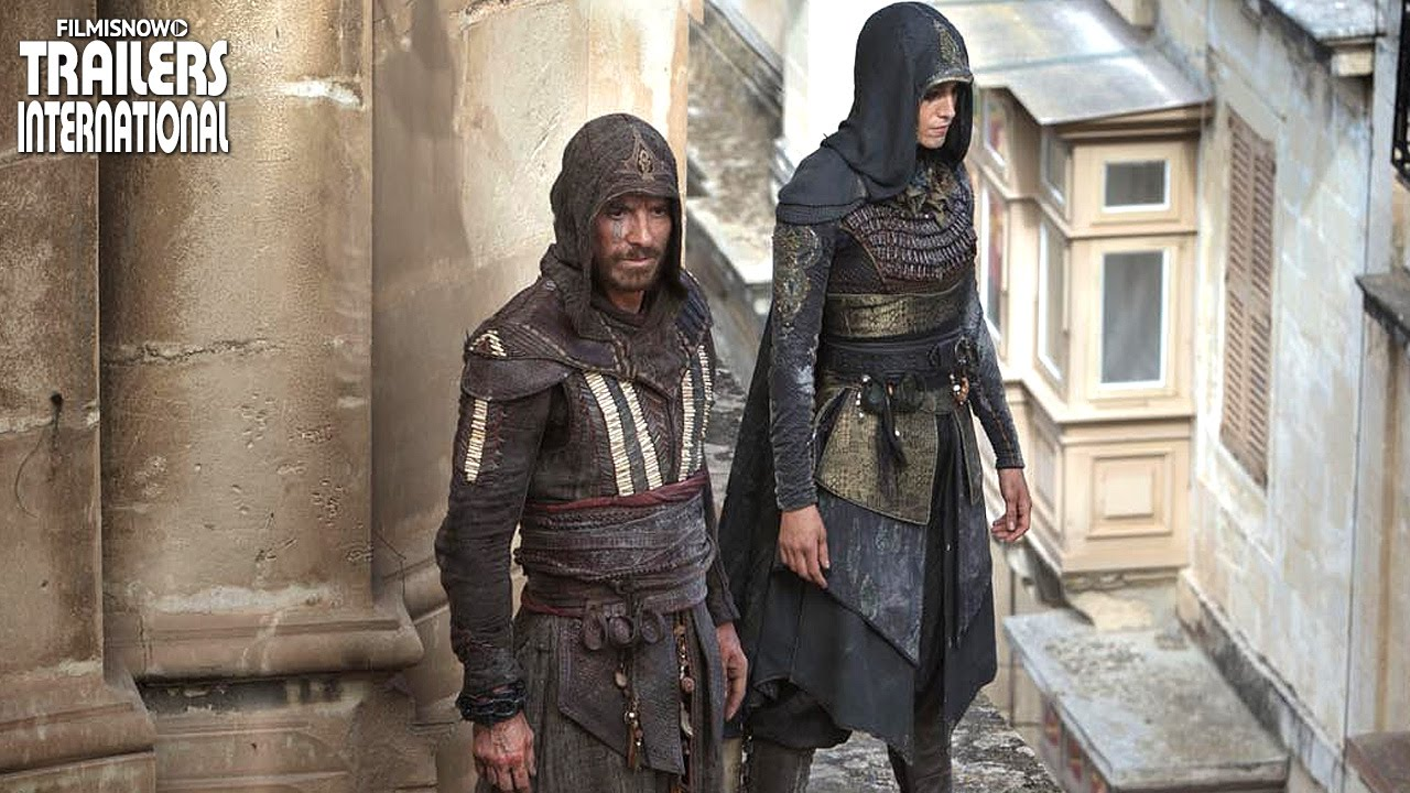 Assassin's Creed 刺客教條 (電影) ft. Michael Fassbender | New International Trailer
