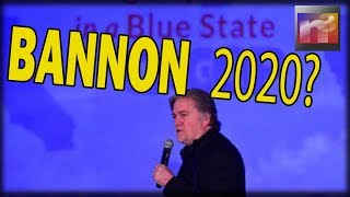 Holy CRAP! Bannon DROPS Bombshell About 2020 That'll send Libtards into the Streets SCREAMING!