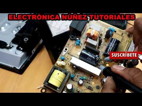 ( video 2 ) reparar tv LG LED de 32 pulgadas. que no enciende. equipo muerto