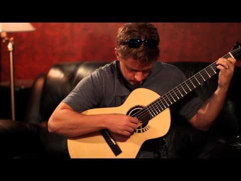Gustav Fredell XS guitar - Te Veo (Leo Kottke)