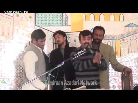 Zakir Qazi Waseem Abbas  New Qasida  2014  Ya Farshe Aza Ya Arzo Samma  video