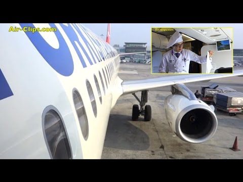 Turkish Airlines Airbus A321 Business Class Istanbul to Germany  [AirClips full flight series]