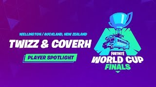 Fortnite World Cup Finals - Player Profile - Twizz & CoverH