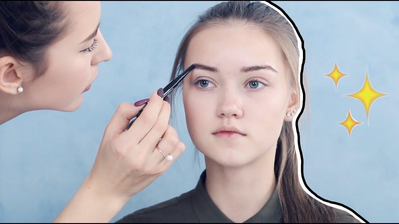 Как сделать брови для подростка 11