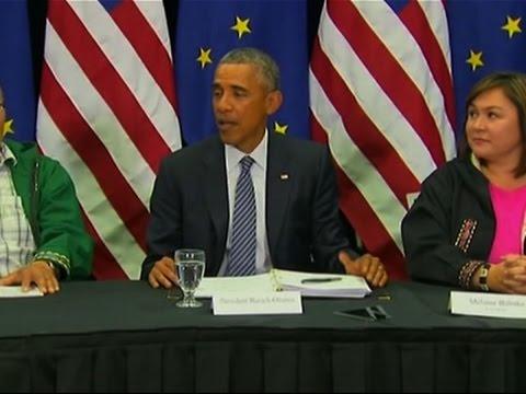 President Obama Meets Tribal Leaders