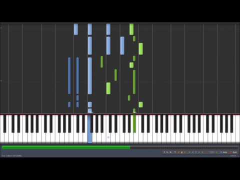 Flame Of Love - Taemin(テミン) [Piano Synthesia Tutorial] [Sheet DL/ピアノ楽譜] ピアノ