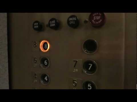 Vintage Otis Touch Sensitive elevators @ Lubbock National Bank Building Lubbock TX
