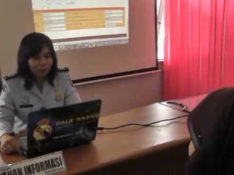 layanan informasi Rutan Sambas