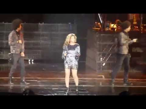 Beyonce And Les Twins | Mrs. Carter Tower 2013