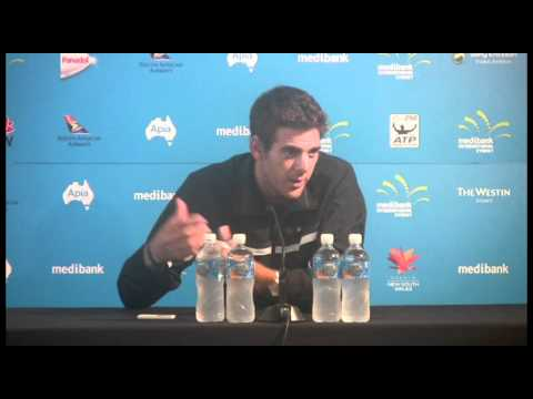 Del Potro press conference (12/1/11): Medibank International Sydney