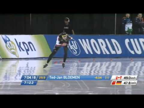 WC Salt Lake City 2015 - 10.000M SPEED SKATING WORLD RECORD TED-JAN BLOEMEN