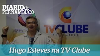 Hugo Esteves estreia na TV Clube/Record