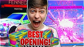 MOST MYSTERYS IN TOTALLY AWESOME CRATES! | *HUGE* TOTALLY AWESOME CRATE OPENING | Rocket League!